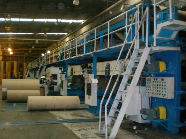 Corrugating Line 98 Quot 2500 Mm Bhs Tcy Agnati B C Flute