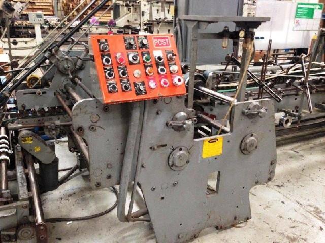 Conversion Line  74 U0026quot  Post Specialty Folder Gluer
